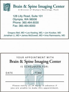 Business/Appointment Card