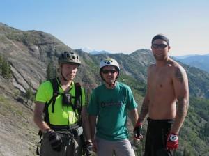 (L-R) Brian, Eric and Al