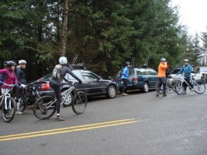 Ramping up at the trailhead