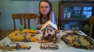 Brooklynn James, gingerbread artist